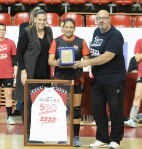 Read more about the article Stoiljkovićeva odigrala 500 utakmica u profesionalnoj karijeri