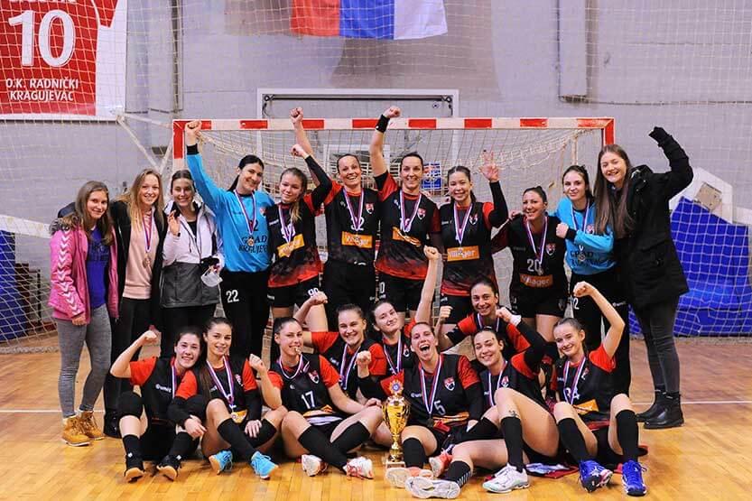 Kragujevčanke odbranile trofej u Kupu