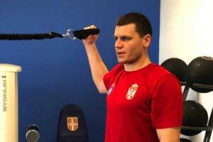 Bogdanović na pripremama seniorske reprezentacije