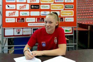 Read more about the article Juniorska reprezentativka u redovima Radničkog