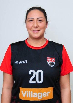 Jovana Stoiljković -desni bek
